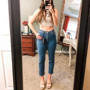 Just Black Basic Mom Jean: Size 24 NWT